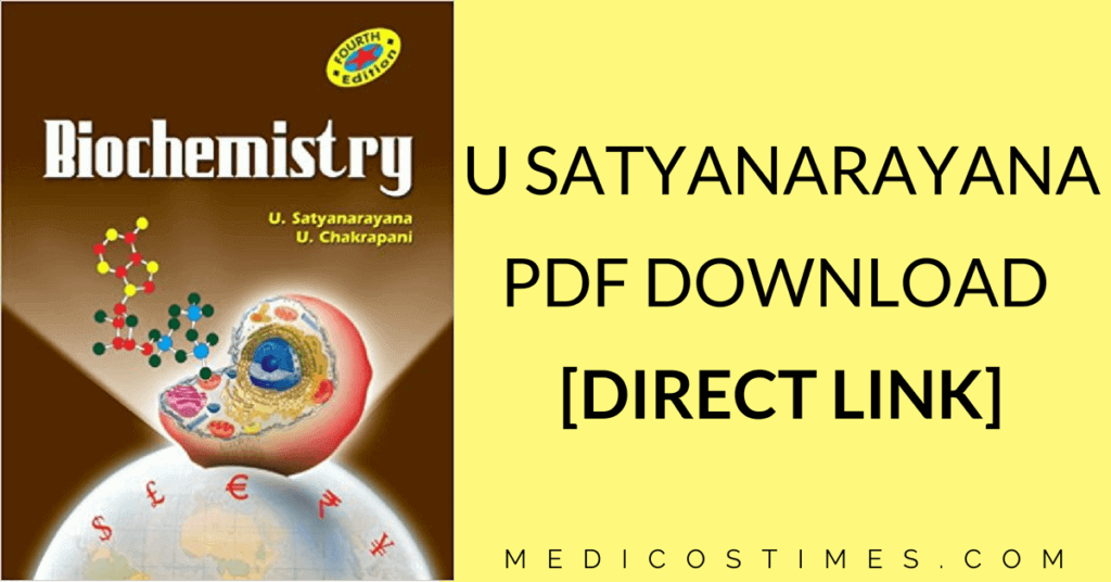 U Satyanarayana Biochemistry
