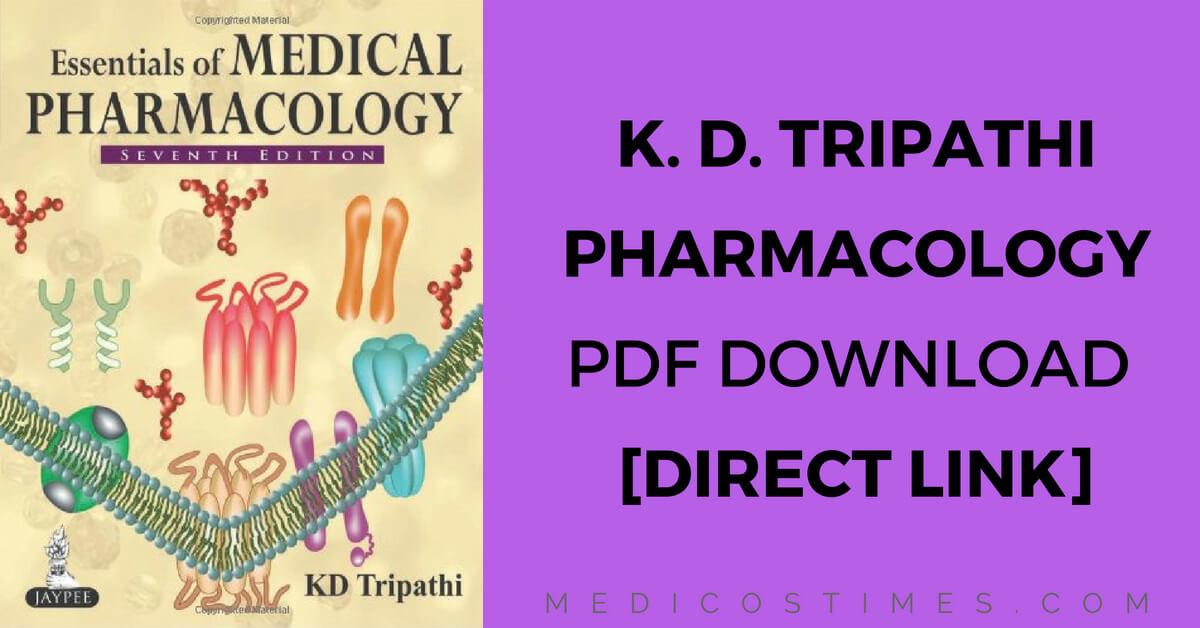 Pharmacology pdf medical