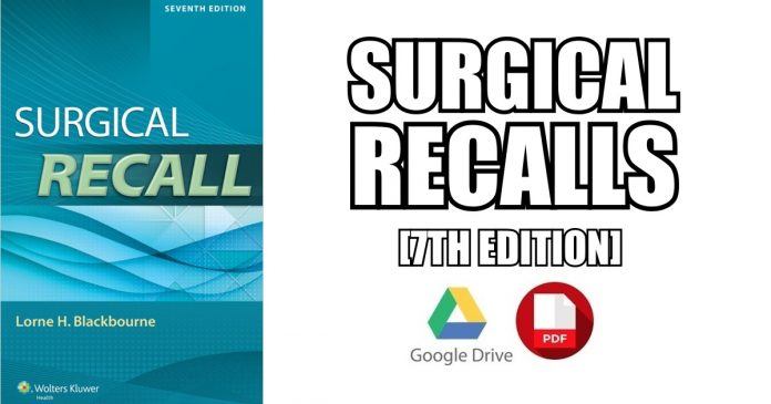 Surgical Recall PDF 7th Edition FREE Download [Direct Link