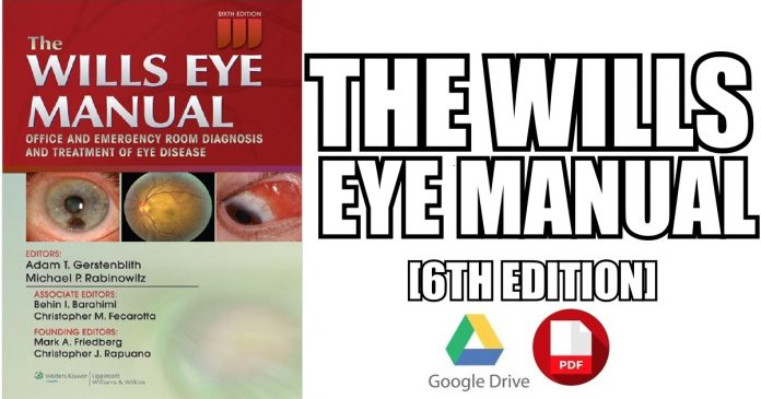 the wills eye manual pdf free download direct link medicos times rh medicostimes com Ophthalmology Eye Care Michigan City Crownpoint Eye Care Ophthalmology