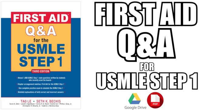 First Aid Q&A for the USMLE Step 1 3rd Edition PDF Free Download