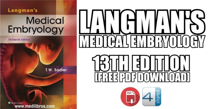 Langmans-Medical-Embryology-13th-Edition-PDF-Free-Download