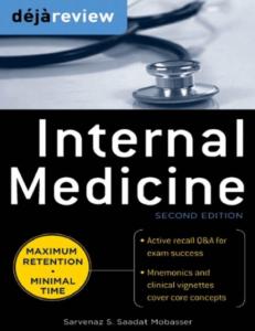 Deja Review Internal Medicine PDF 2nd Editio
